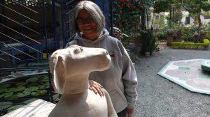 Anjani Khanna, ceramiste indienne