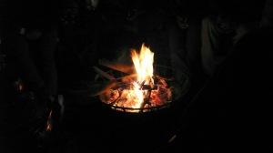Chaque soir, autour du feu
