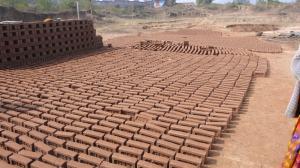 Séchage des briques