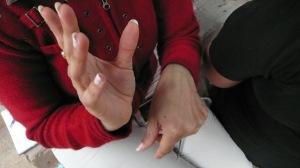 Les mains de Tania
