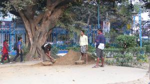 Jardin public au centre de Kolkata