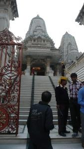 Temple au coeur du centre ville