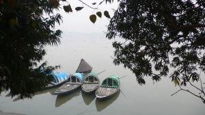 Les bords du Gange