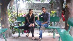 Dans un parc