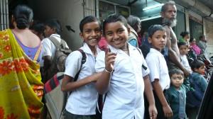 Sortie d'école à la campagne