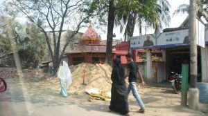retour à Calcutta, un autre quartier