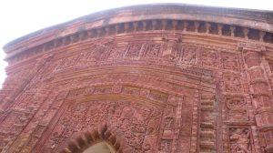 Ghurisha, détail de la facade